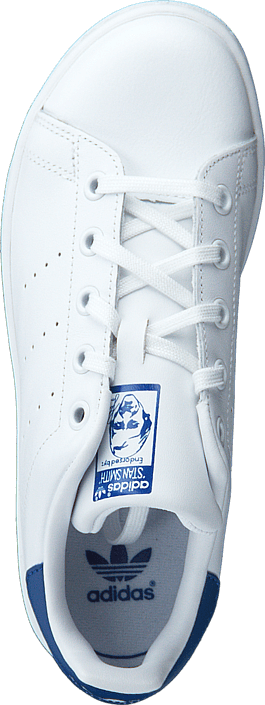 Kjøp adidas Originals Stan Smith C Ftwr White/Eqt Blue S16 Hvite Sko Online