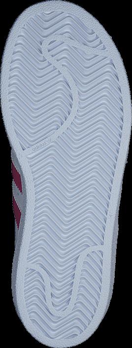 Kjøp adidas Originals Superstar Foundation C Ftwr White/Bold Pink/White Hvite Sko Online