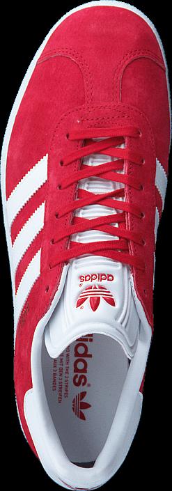 Kjøp adidas Originals Gazelle Scarlet/White/Gold Met Røde Sko Online