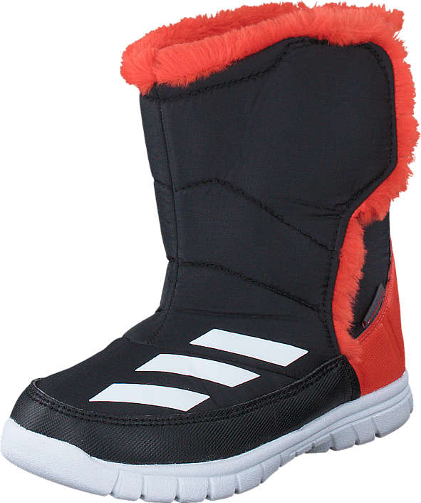 Kjøp adidas Sport Performance Lumilumi I Core Black/White/Bold Orange Oransje Sko Online