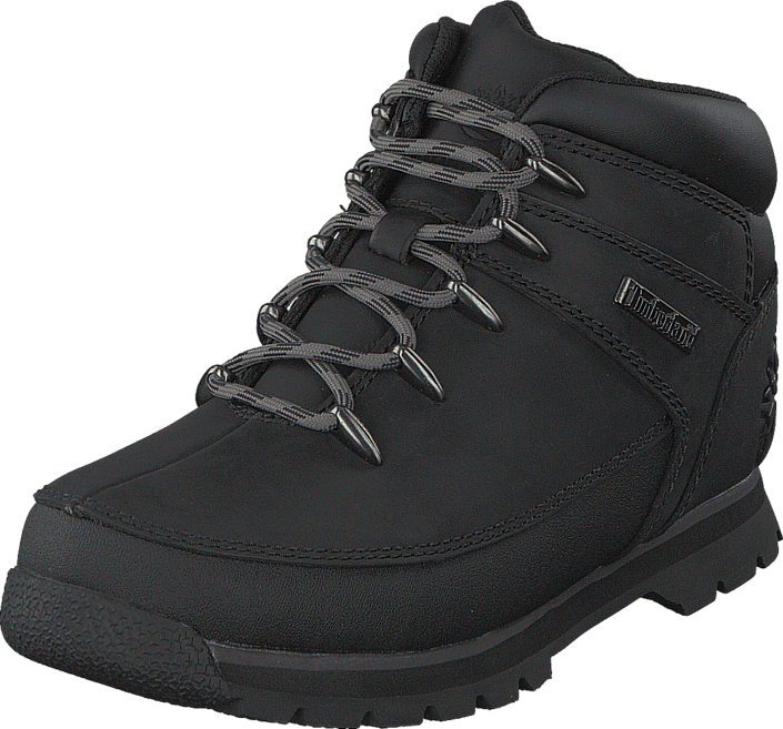 Kjøp Timberland Eurosprint C9770R Black Smooth w Grey Brune Sko Online