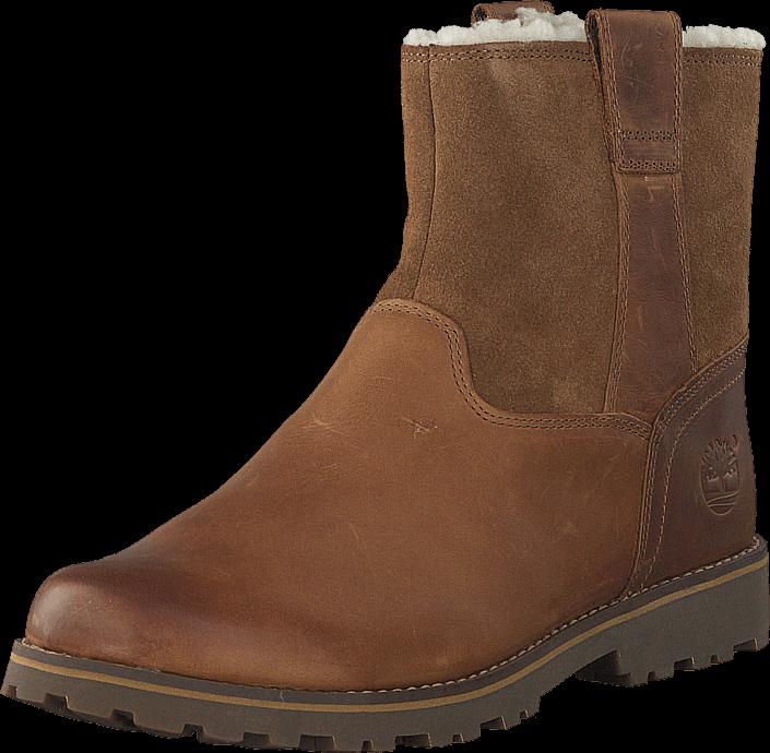 Kjøp Timberland Asphalt Trail Warm-Lined CA14HR Light Brown Full-Grain w Suede Brune Sko Online