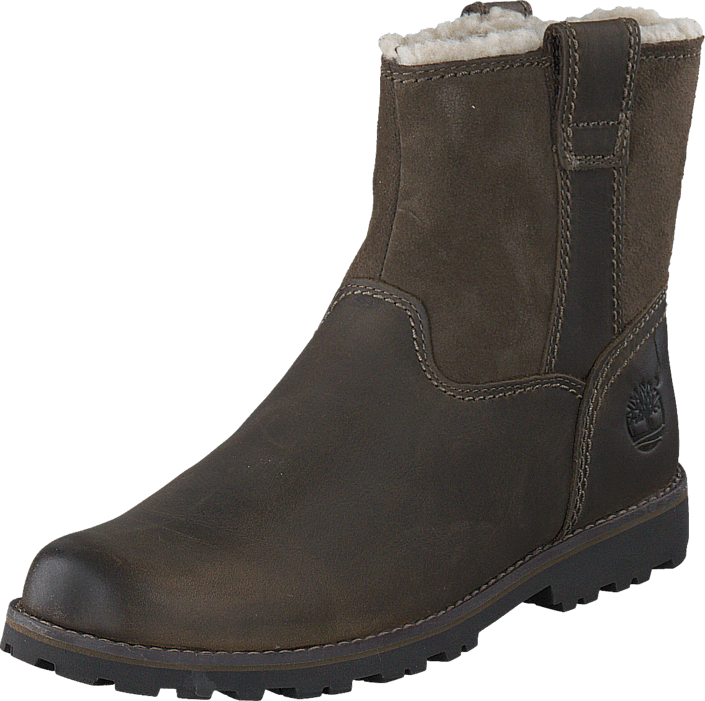 Kjøp Timberland Asphalt Trail Warm-Lined CA1BSN Dark Brown Full-Grain w Suede Brune Sko Online