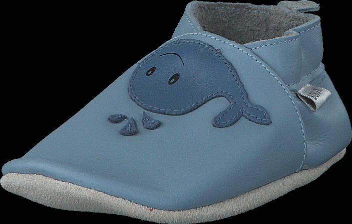 Kjøp Bobux Whale Blue Blå Sko Online