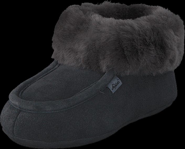 Kjøp Axelda London Asphalt Svarte Sko Online