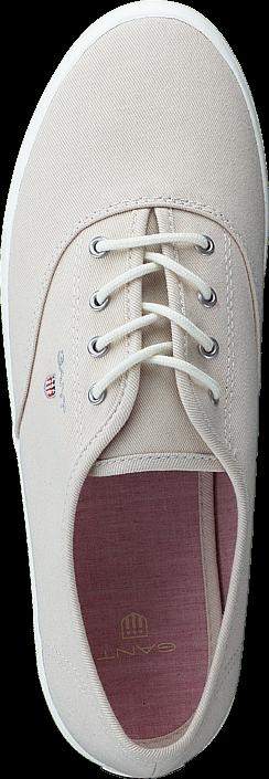 Kjøp Gant 14538591 New Haven G27 Putty Cream Beige Hvite Sko Online