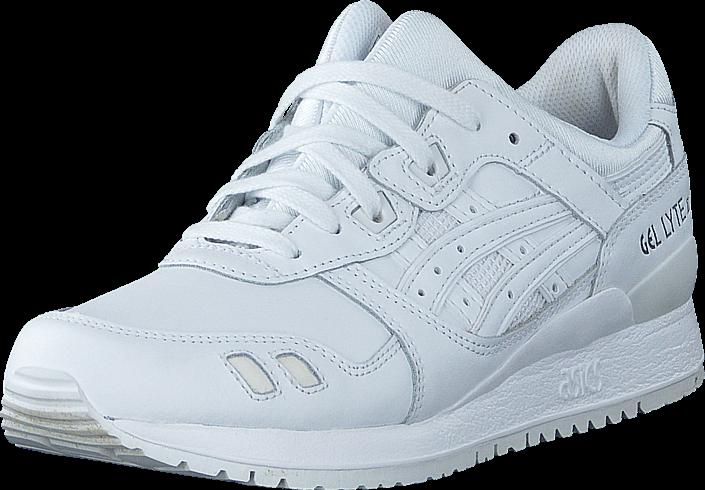 Kjøp Asics Gel Lyte III White/White Hvite Sko Online