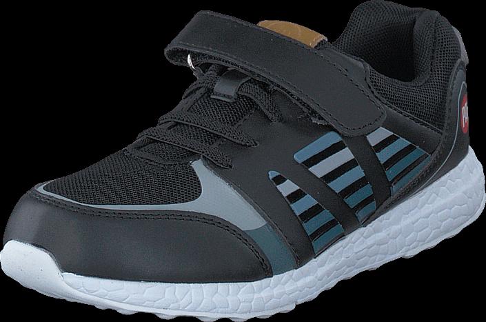 Kjøp Pax Sprint Black/Blue Grå Sko Online
