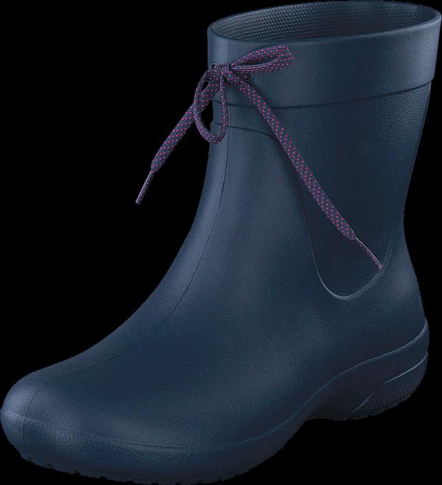 Kjøp Crocs Crocs Freesail Shorty RainBoot Navy Blå Sko Online