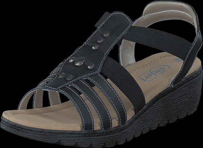 Kjøp Soft Comfort Hellenius Black Grå Sko Online