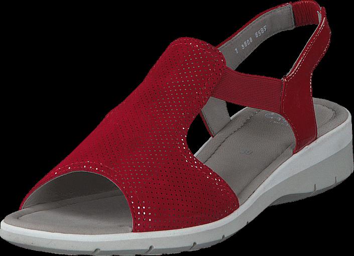 Kjøp Ara 12-36017-08 Red Grå Sko Online