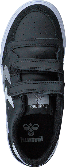 Kjøp Hummel Stadil Jr Leather Low Black/White/Grey Svarte Sko Online