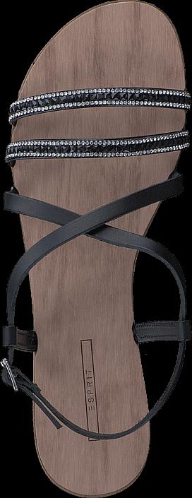 Kjøp Esprit Nil Sandal 001 Black Grå Sko Online