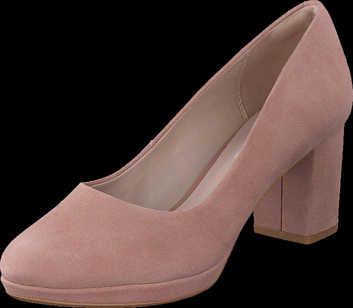 Kjøp Clarks Kelda Hope Dusty Pink Rosa Sko Online