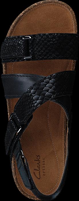 Kjøp Clarks Rosilla Essex Black Combi Brune Sko Online