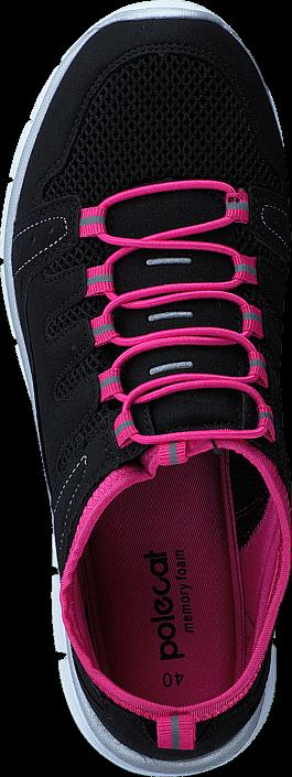 Kjøp Polecat 435-1311 Memory Foam Insock Black/Fuchsia Svarte Sko Online