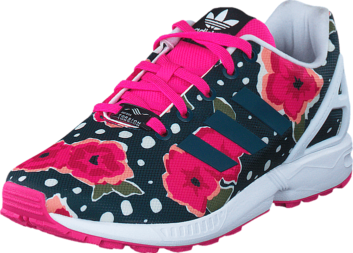 Kjøp adidas Originals Zx Flux J Shock Pink/ Ftwr White Rosa Sko Online