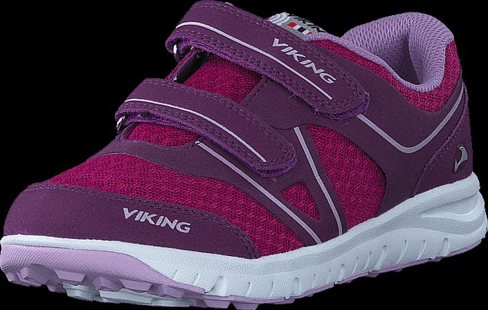 Kjøp Viking Hel II Plum/Dark Pink Lilla Sko Online