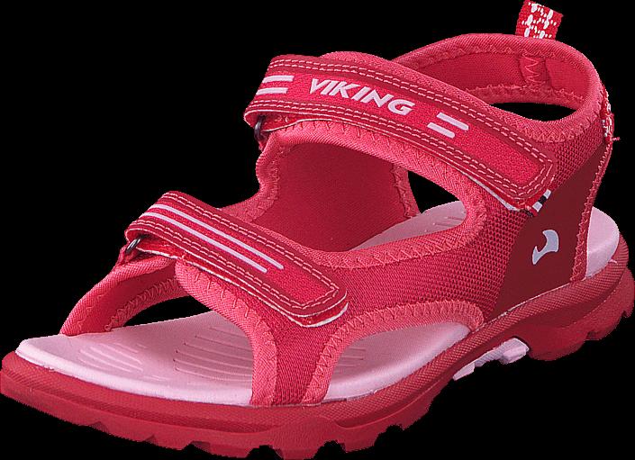 Kjøp Viking Skumvaer II Dark Pink/Coral Røde Sko Online