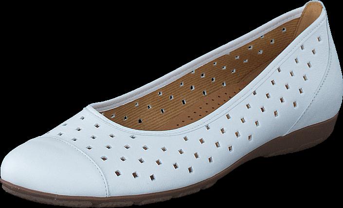 Kjøp Gabor 64.169.21 White White Hvite Sko Online