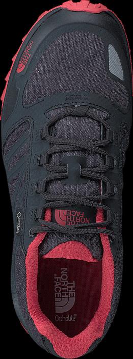 Kjøp The North Face Womens Litewave Fastpack GTX Phantom Grey/ Cayenne Red Grå Sko Online