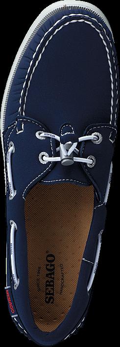 Kjøp Sebago Docksides Ariaprene Navy Ariaprene Blå Sko Online