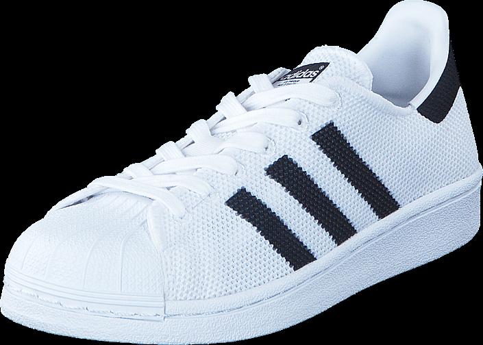 Kjøp adidas Originals Superstar J Ftwr White/Core Black/Ftwr Whi Blå Sko Online
