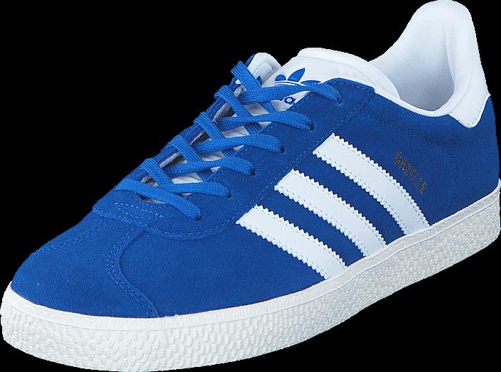 5394888a Kjøp adidas Originals Gazelle J Blue/Ftwr White/Gold Met. Blå Sko Online