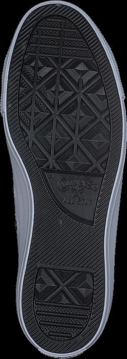 Kjøp Converse All Star Classic Ox Leather White/Gold Blå Sko Online