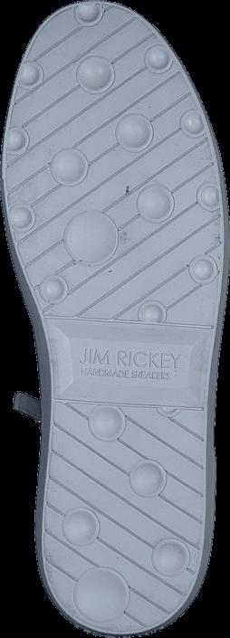 Kjøp Jim Rickey Zed Lthr White Hvite Sko Online