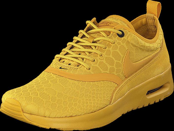 Kjøp Nike W Air Max Thea Ultra Se Gold Dart/Gold Dart-Desert Och Gule Sko Online