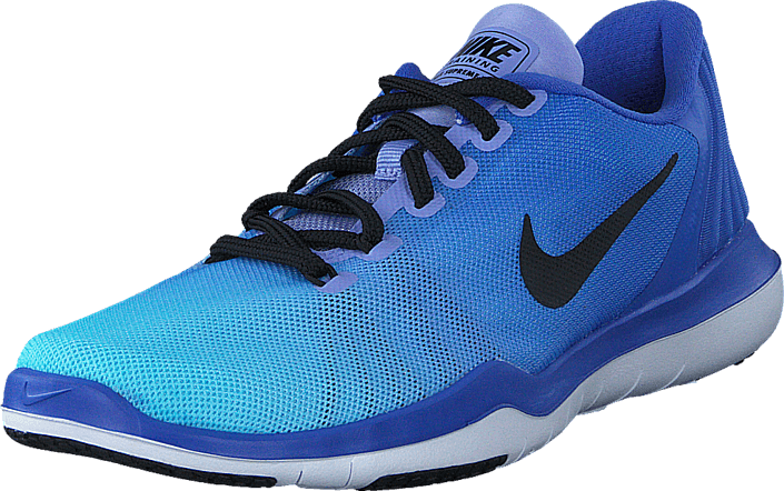 Kjøp Nike W Flex Supreme Tr 5 Fade Medium Blue/Black-Still Blue Blå Sko Online