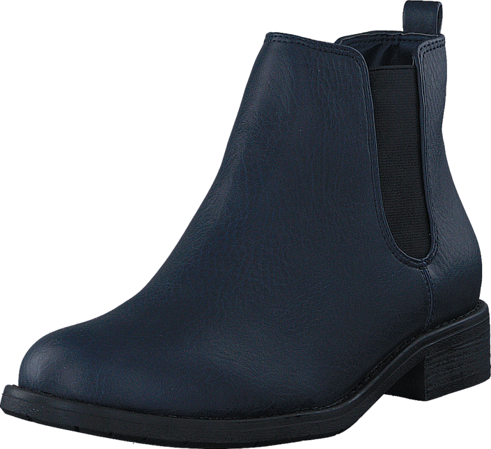 Kjøp Bianco Basic Fleece Chelsea Navy Blue Blå Sko Online