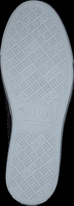 Kjøp Dasia Daylily Buckle Black Grå Sko Online