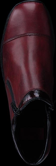 Kjøp Rieker 58374-35 35 Burgundy Røde Sko Online