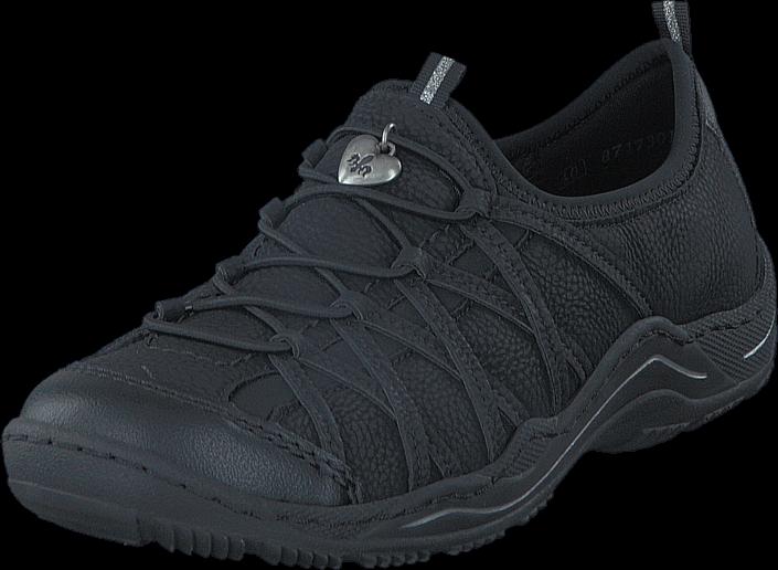 Kjøp Rieker L0551-00 00 Black Blå Sko Online