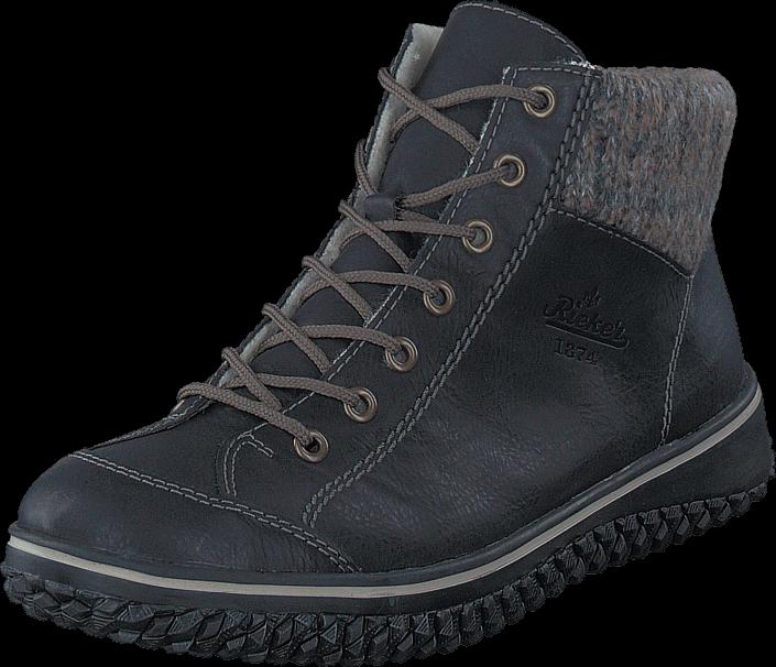 Kjøp Rieker Z4243-00 00 Black Blå Sko Online