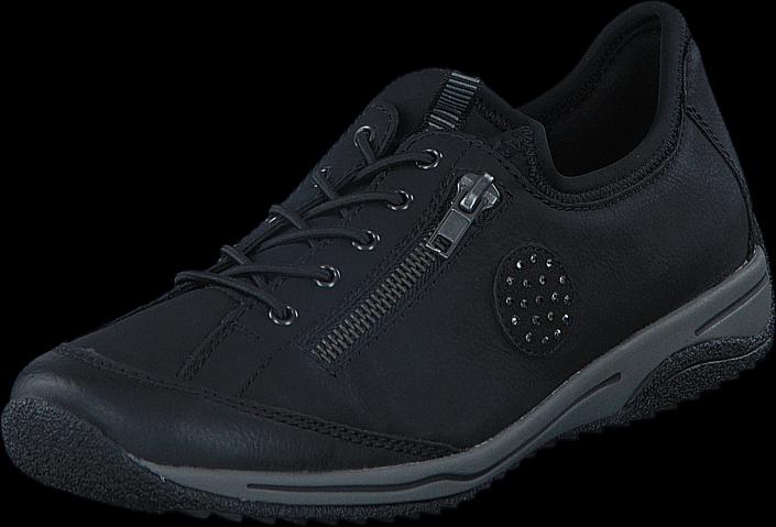 Kjøp Rieker L5263-00 Black Blå Sko Online