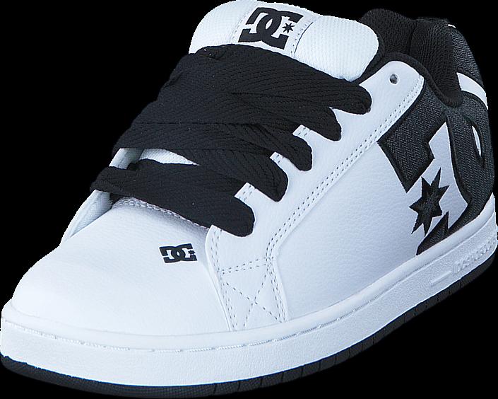 Kjøp DC Shoes Court Graffik SE White/Charcoal Blå Sko Online