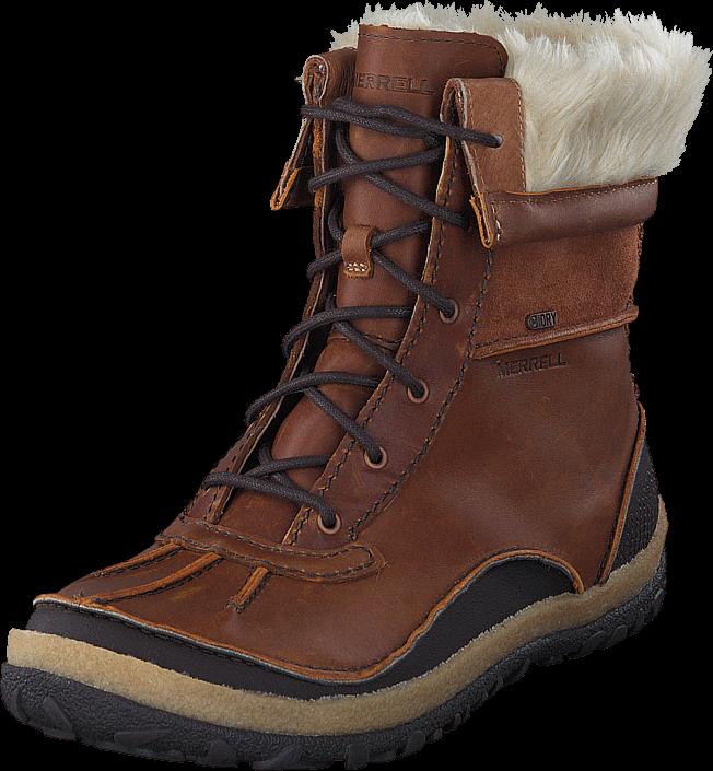 Kjøp Merrell Tremblant Mid Polar WTPF Merrell Oak Brune Sko Online