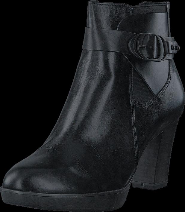 Kjøp Tamaris 1-1-25334-29 003 Black Leather Grå Sko Online