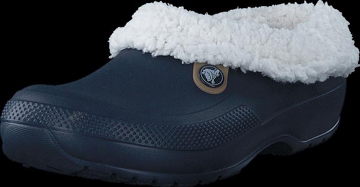 Kjøp Crocs Classic Blitzen III Clog Navy/Oatmeal Blå Sko Online