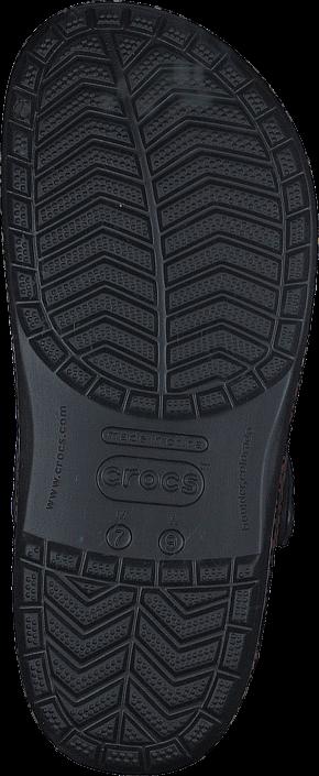 Kjøp Crocs Crocband Leopard III Clog Black Blå Sko Online