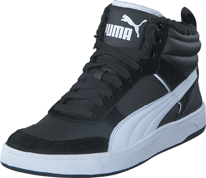 Kjøp Puma Reebound street v2 Black-White Blå Sko Online