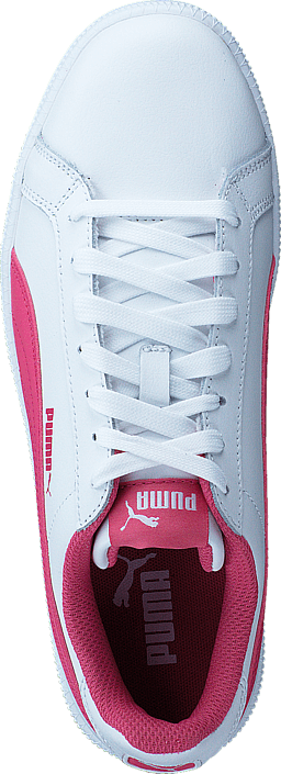 Kjøp Puma Smash FUN L JR White-Rapture Rose Rosa Sko Online