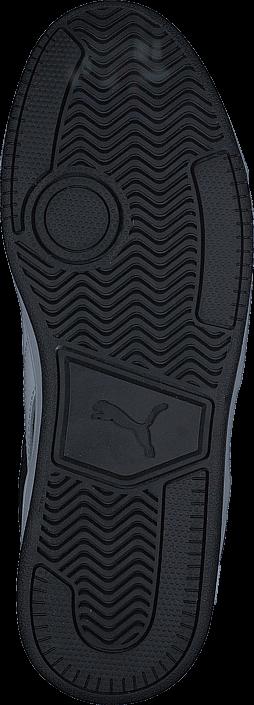 Kjøp Puma Reebound street v 2 Fur Jr Black Blå Sko Online