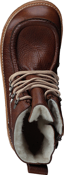 Kjøp Angulus TEX-boot w. zipper and laces J 2509/1589 Red-brown Brune Sko Online