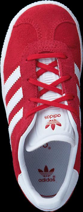 Kjøp adidas Originals Gazelle I Scarlet/Ftwr White/Gold Foil Røde Sko Online