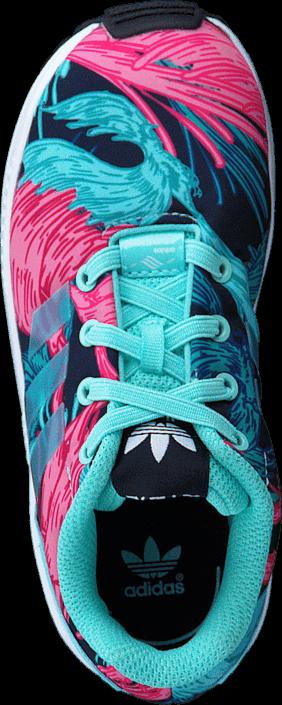 hot sale online 878bb 0565c ... Kjøp adidas Originals Zx Flux El I Energy Aqua F17 Energy Aqua F1 Rosa  Sko
