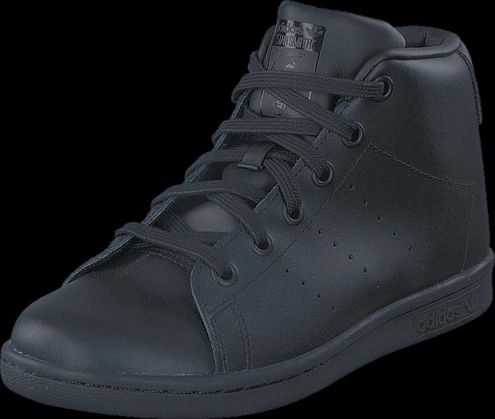 Kjøp adidas Originals Stan Smith Mid C Core Black/Core Black/Core Bla Blå Sko Online